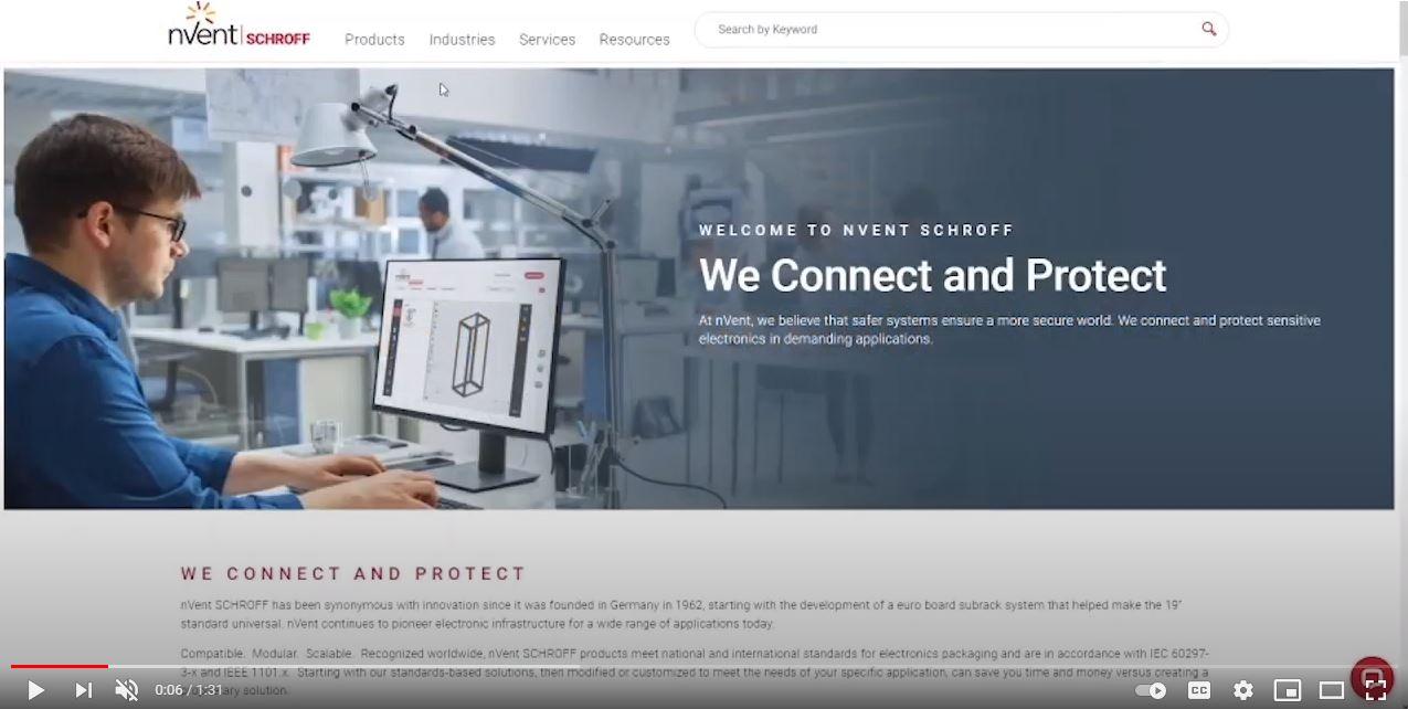 Présentation du site Web