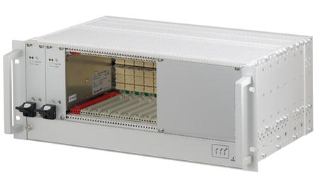 "CompactPCI Serial, 4 HE, mit und ohne Rear I/O, with 19"" power supply"