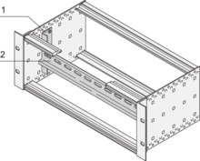 Support rail to DIN 43880 (EuropacPRO)