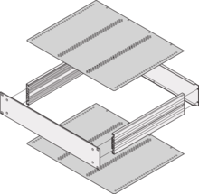Top cover/base plate