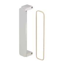 Mezzanine front panel (PMC), untreated, shielded (o ring)