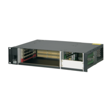 "CompactPCI 2 U, 4 slot, rear I/O, for 19"" PSU"