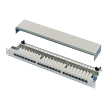 "19"" distribution panel, Cat 6"