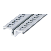 Profil horizontal, centre, for rear I/O, type AB (RatiopacPRO/-air, EuropacPRO/-rugged)