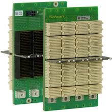 CPCI Serial Backplane, 3 U, 4 Slot, System Slot Left, Full-Mesh, With RIO