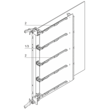 Guide Rail for AdvancedMC Mid-Size Modules