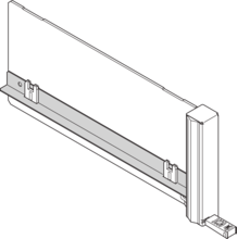 Obturateur, for filler module ECO with fixed handle