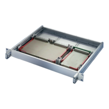 Euroboard mounting kit for insulated backplane