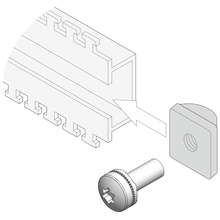 Slide Nuts with Screw