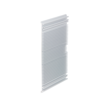 Extruded Side Panels, with cooling fins