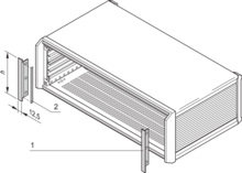 Trim, front, for EMC shielding (PropacPRO)