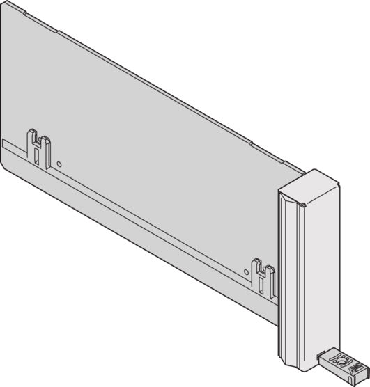 ECO filler module with fixed handle