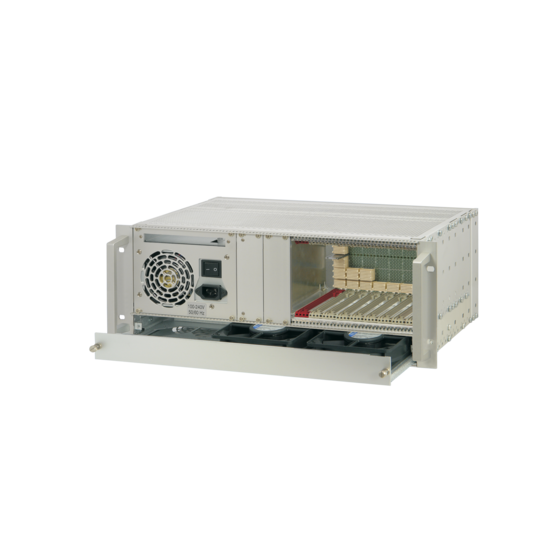 CompactPCI Serial 4 U, 9 slot, without rear I/O, with ATX power supply
