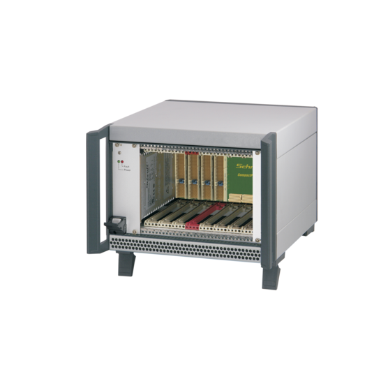 """CompactPCI PlusIO 4 U, 8slot, 44 HP, with rear I/O, with 19""""-compatible power supply"""