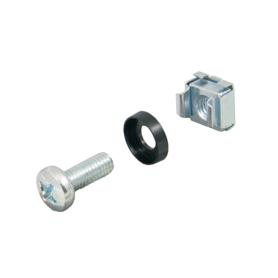 Fixing materials kit, cage nut M4/M5