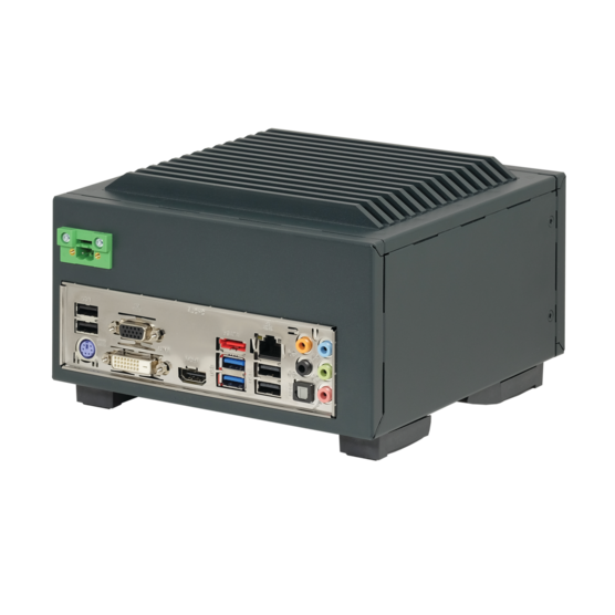 Interscale for Mini-ITX, with 10/20 mm fins, conduction cooled
