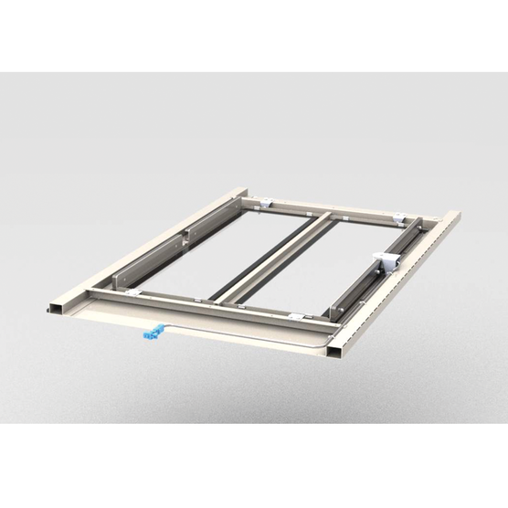 Automatic enclosure top covers