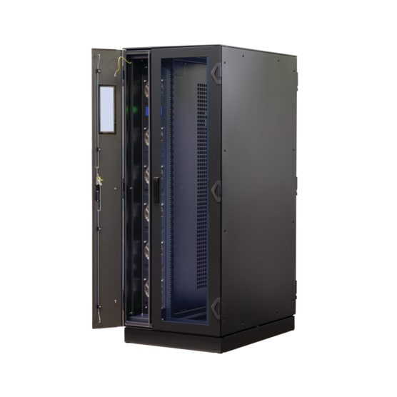 Varistar LHX+, cabinet with double door, integrated airconditioner