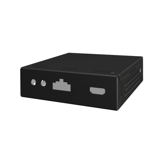 Interscale for Embedded NUC, conduction cooled