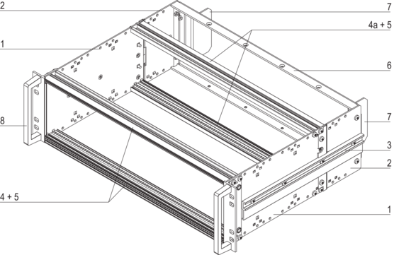 EuropacPRO kit railway applications, heavy design, unshielded, SNCF