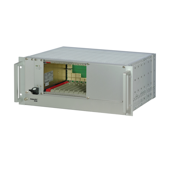 """CompactPCI Serial, 4 U, with/without rear I/O, with 19"""" power supply"""