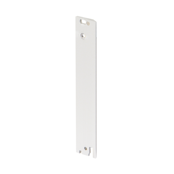Front panel, 3/6 U, unshielded, front assembly, for IEL, IET or type 2 trapezoid handle