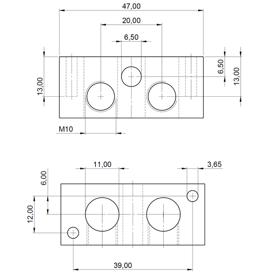 Dimensions: Grounding/Earthing Clamp