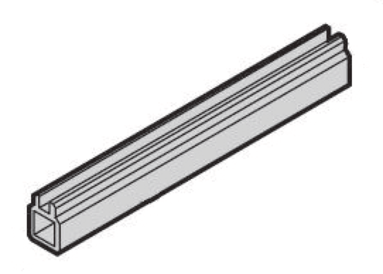 Mid-piece extrusion for guide rails (EuropacPRO)