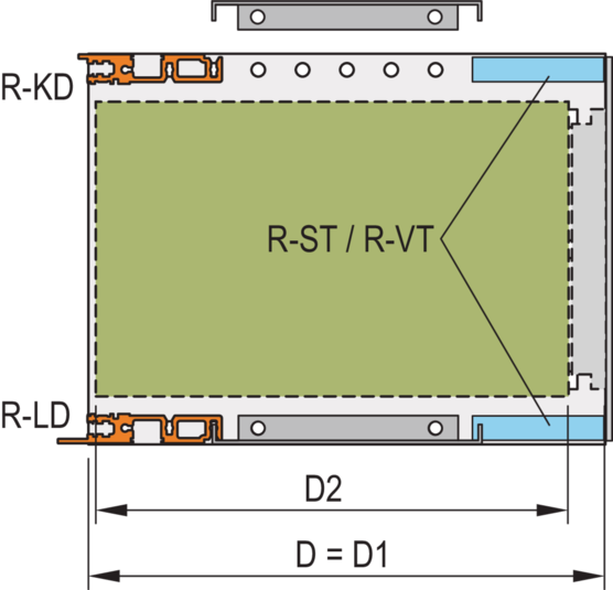 """Side Panel, type """"R"""", rugged (EuropacPRO)"""