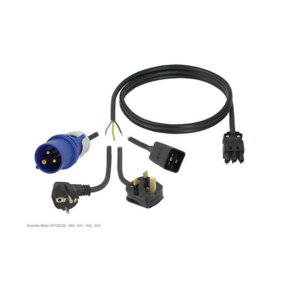 Connecting cables for Wieland® socket strips