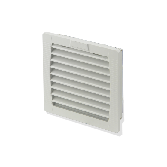 Air outlet/inlet filter for air filtered fan