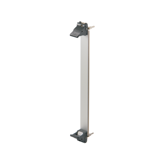 Plug in unit, 6 U, front anodized, rear etched, shielded (textile), front or rear IO assembly, IEL handle