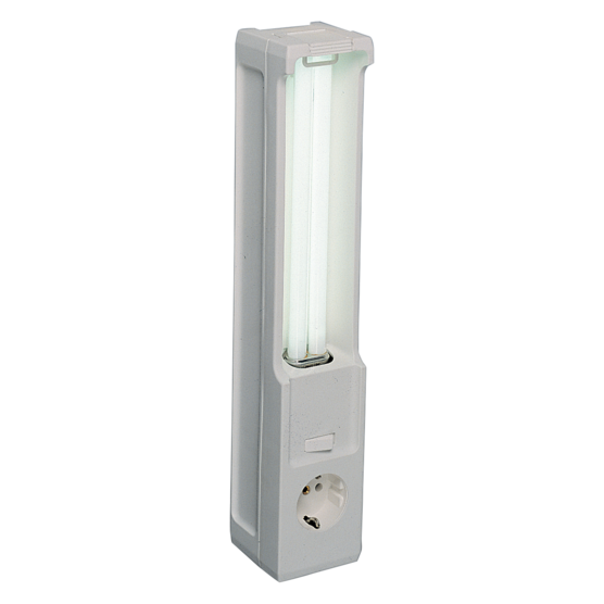 Cabinet light for magnetic mounting