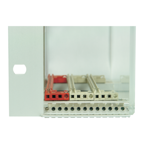 Guide rails, one-piece, for CompactPCI, VME64x with coding