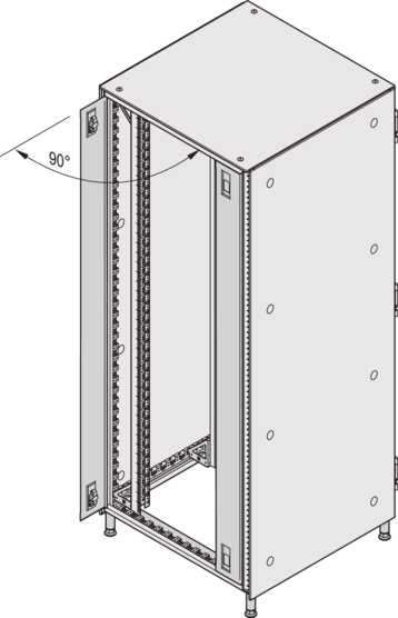 Cover panel hinged (Varistar)