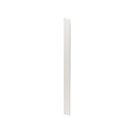 Front panel, anodized, unshielded, screw assembly