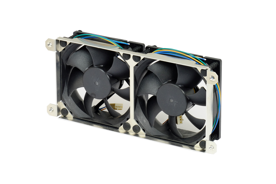 Double Interscale fan with double fixing frame