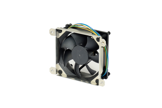 Interscale fan with fixing frame