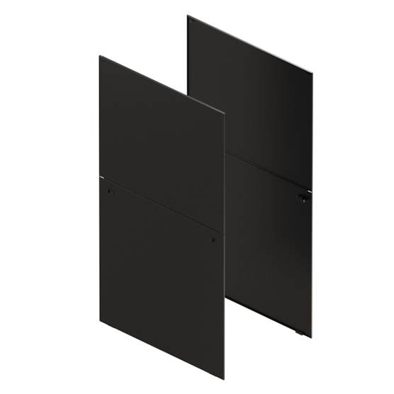 Varistar CP Side Panel, Divided, With Quick-Release Fastener and Lock