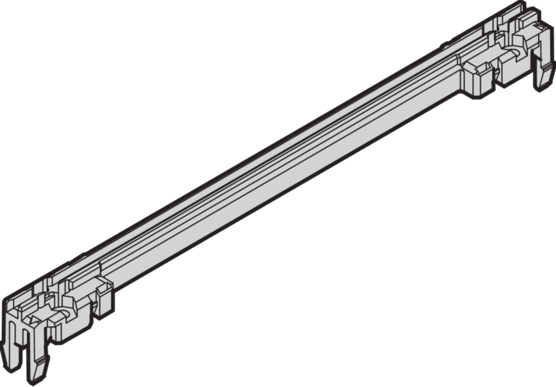 """Guide rails type, """"accessory"""" type"""